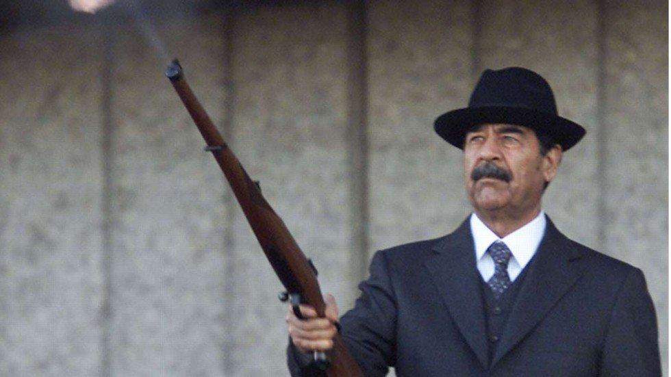 Saddam Hussein Shotgun