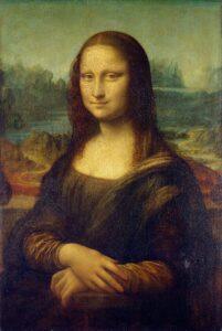 Mona Lisa, by Leonardo da Vinci